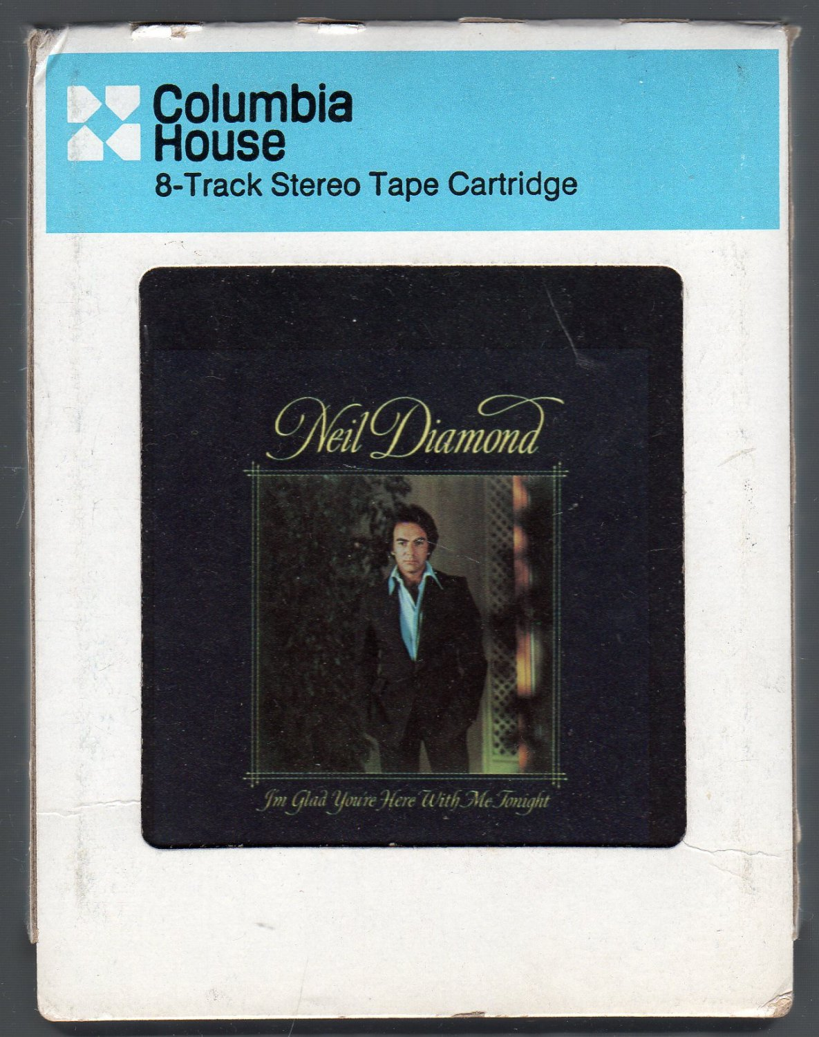 Neil Diamond - I'm Glad You're Here With Me Tonight CRC 8-track tape