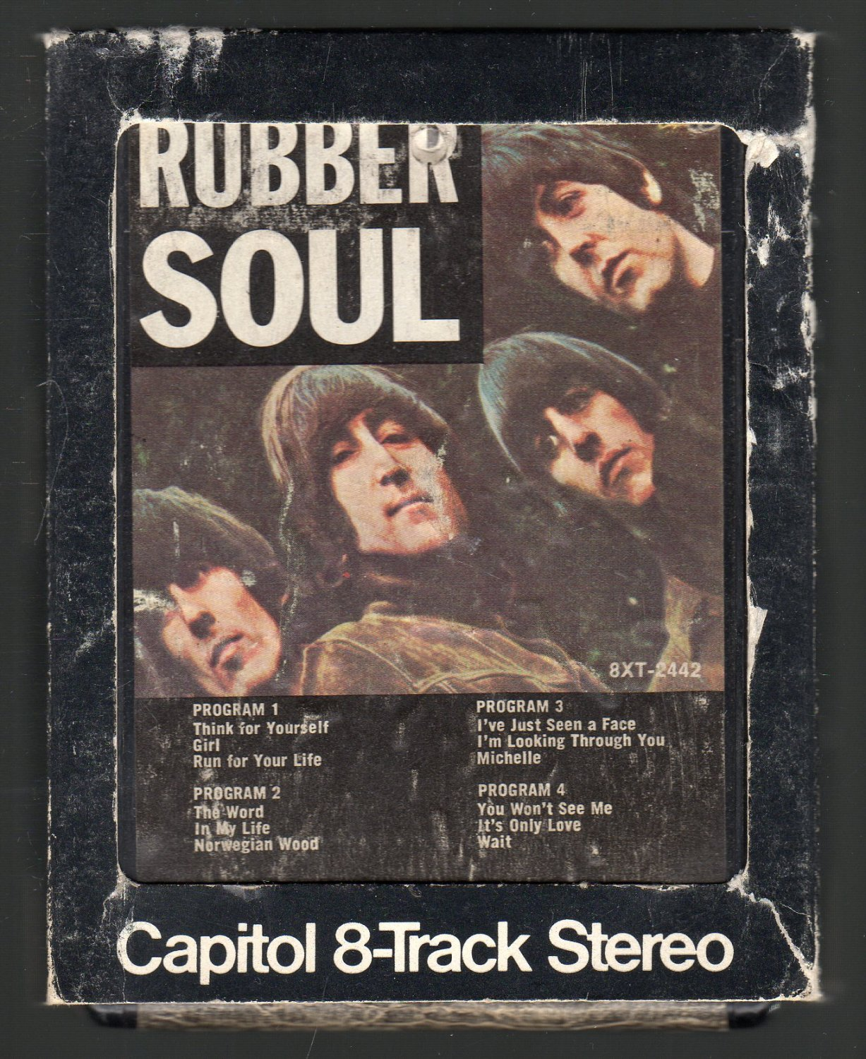 The Beatles - Rubber Soul Capitol SOLD 8-track tape