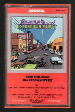 The Grateful Dead - Shakedown Street SOLD Cassette Tape