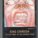 King Crimson - In The Court Of The Crimson King Cassette Tape