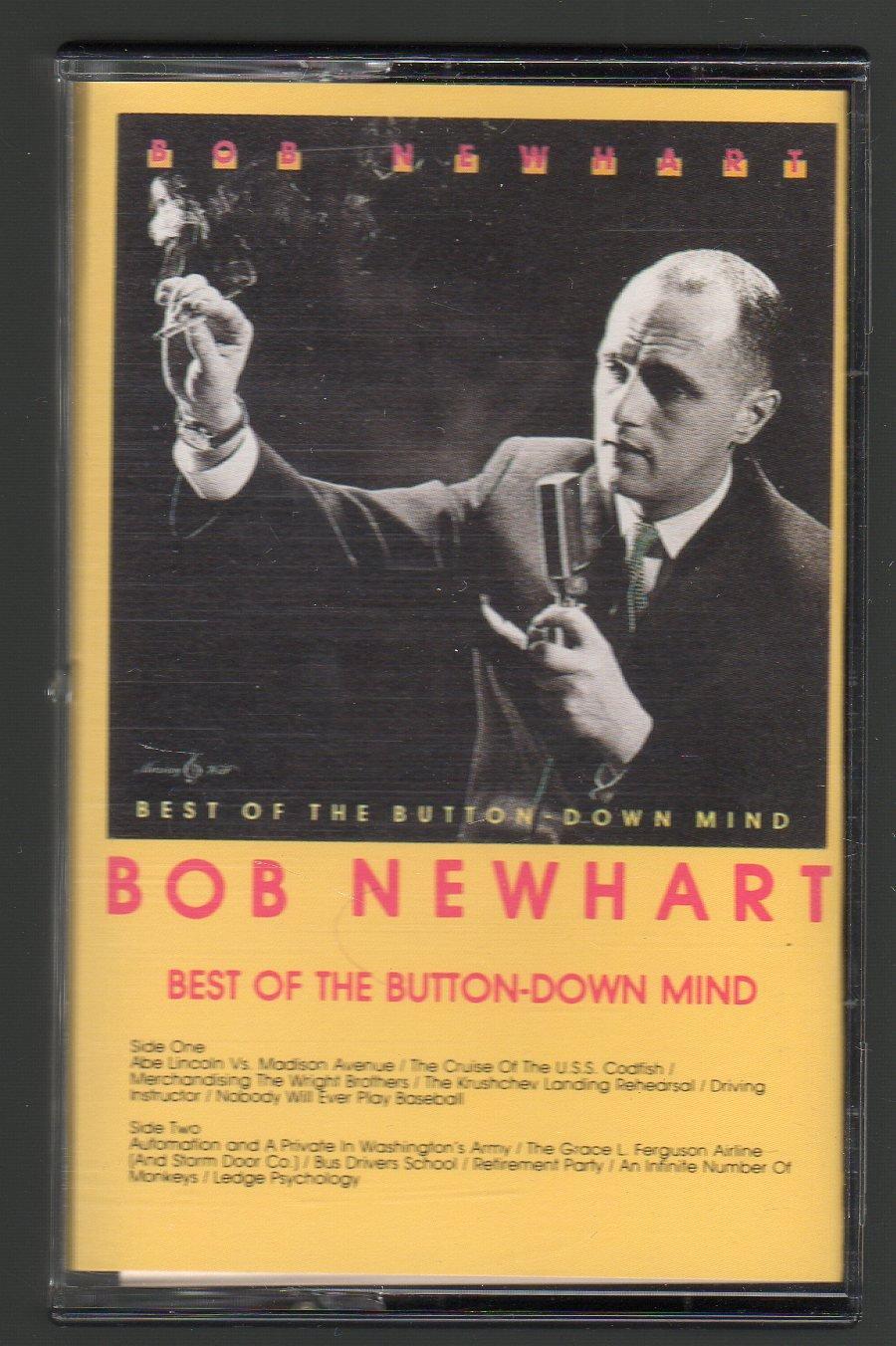 Bob Newhart - Best Of The Button-Down Mind Cassette Tape
