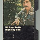 Richard (Dickey) Betts - Highway Call 1974 Hard-Shell Cassette Tape
