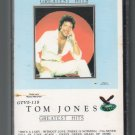 Tom Jones - Greatest Hits GUSTO Cassette Tape