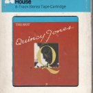 Quincy Jones - The Best Of 1981 CRC A52 8-track tape
