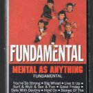 Mental As Anything - Fundamental Cassette Tape