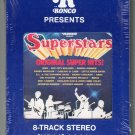 Superstars - Original Super Hits RONCO Sealed 8-track tape