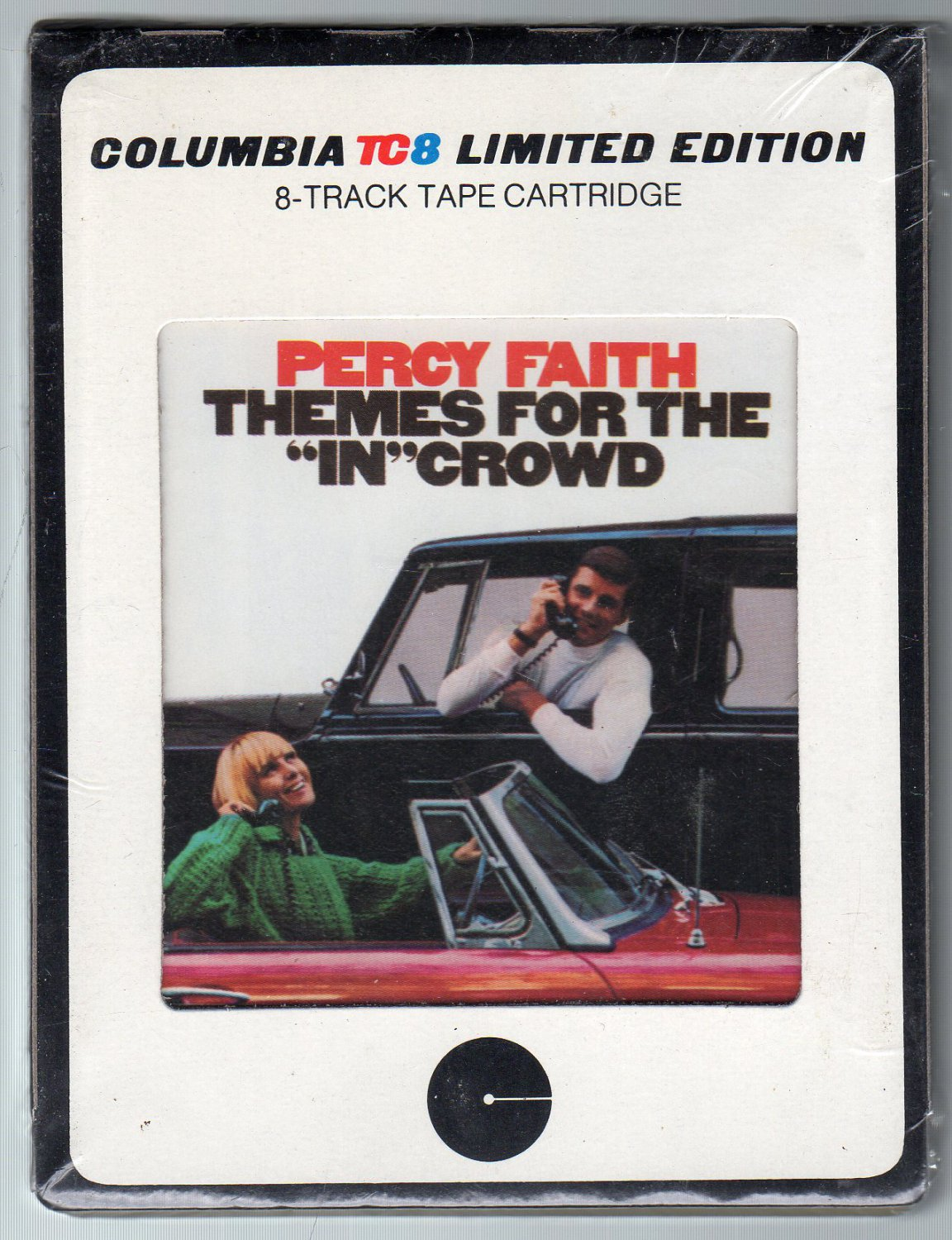 Percy Faith - Themes For The In Crowd Sealed 8-track tape