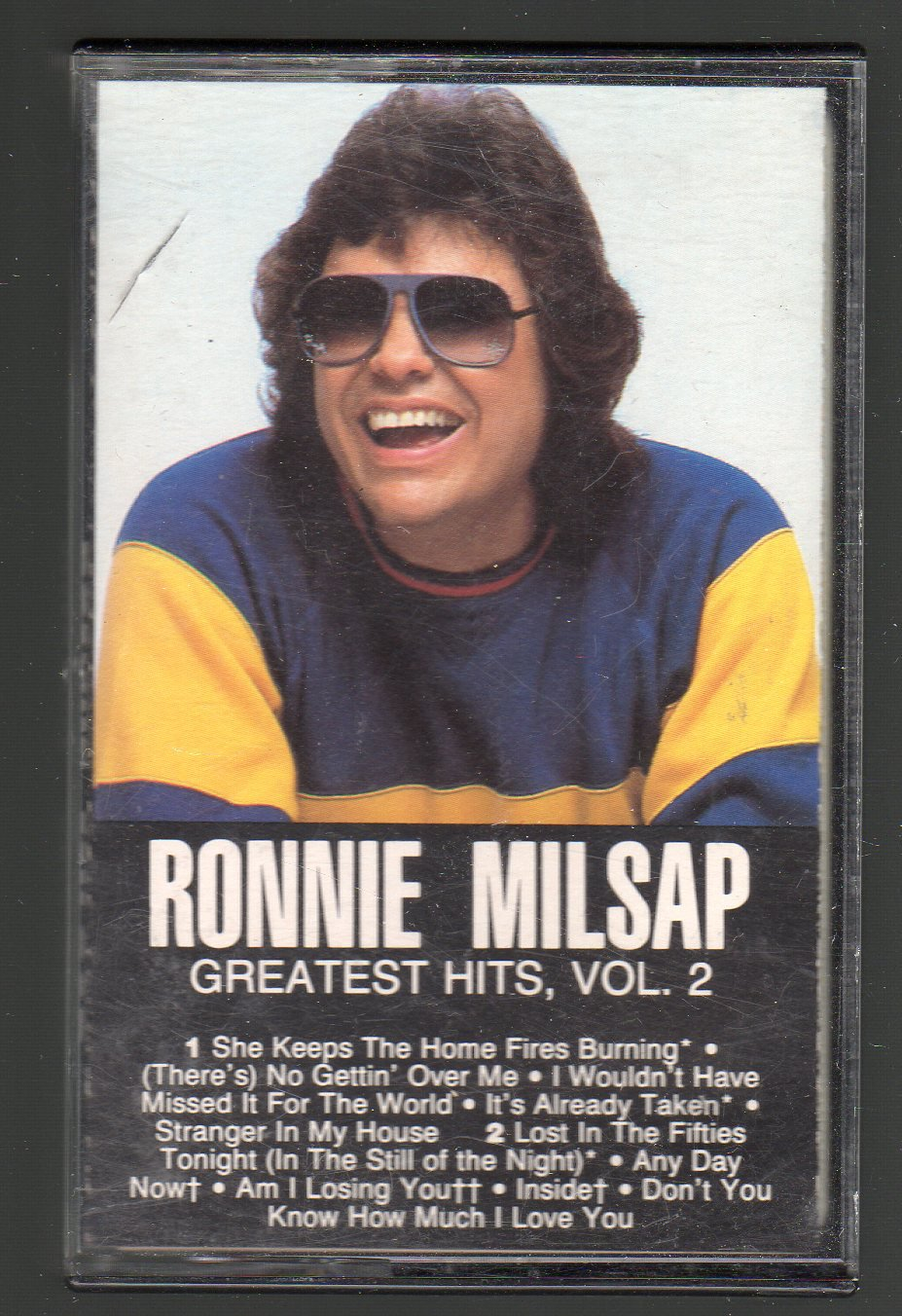 Ronnie Milsap - Greatest Hits Vol 2 SOLD Cassette Tape