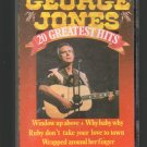 George Jones - George Jones 20 Greatest Hits Holland Cassette Tape