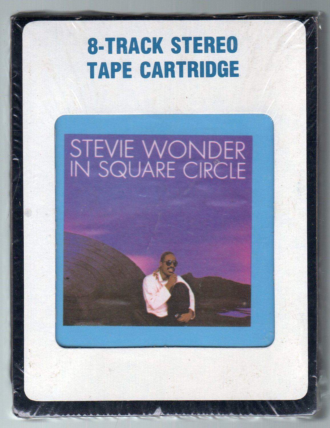 Stevie Wonder - In Square Circle 1985 CRC Sealed A52 8-track tape