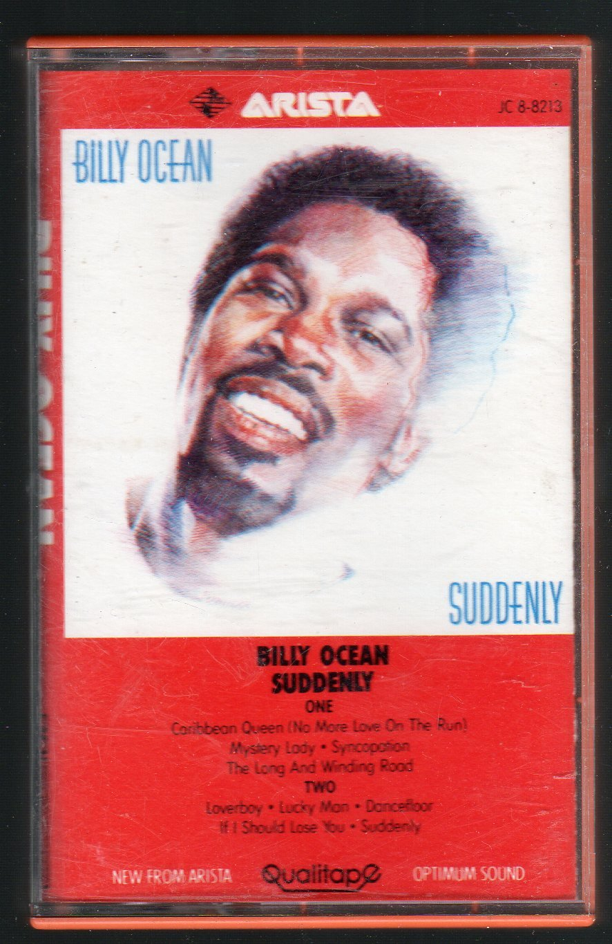 Billy Ocean - Suddenly Cassette Tape