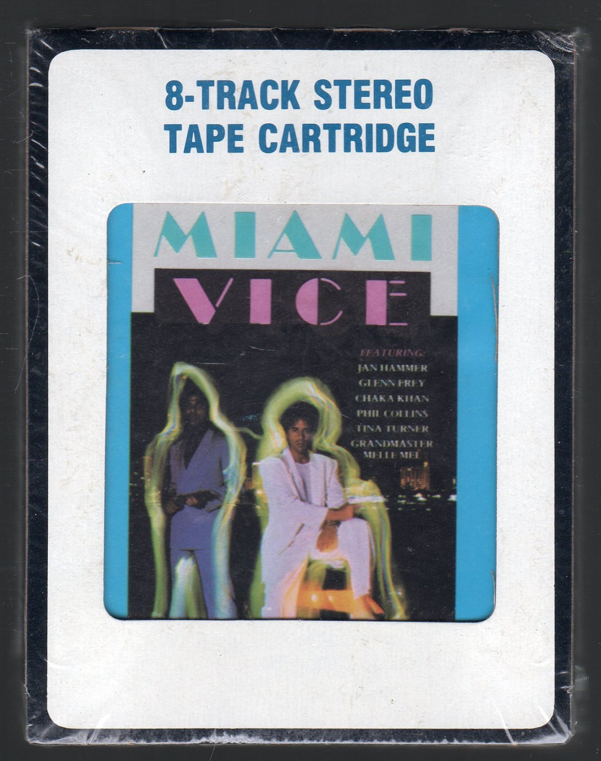 Miami Vice - Music From The Television Series 1985 CRC Sealed A52 SOLD 8-track tape