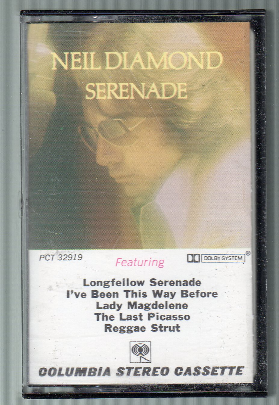 Neil Diamond - Serenade SOLD Cassette Tape