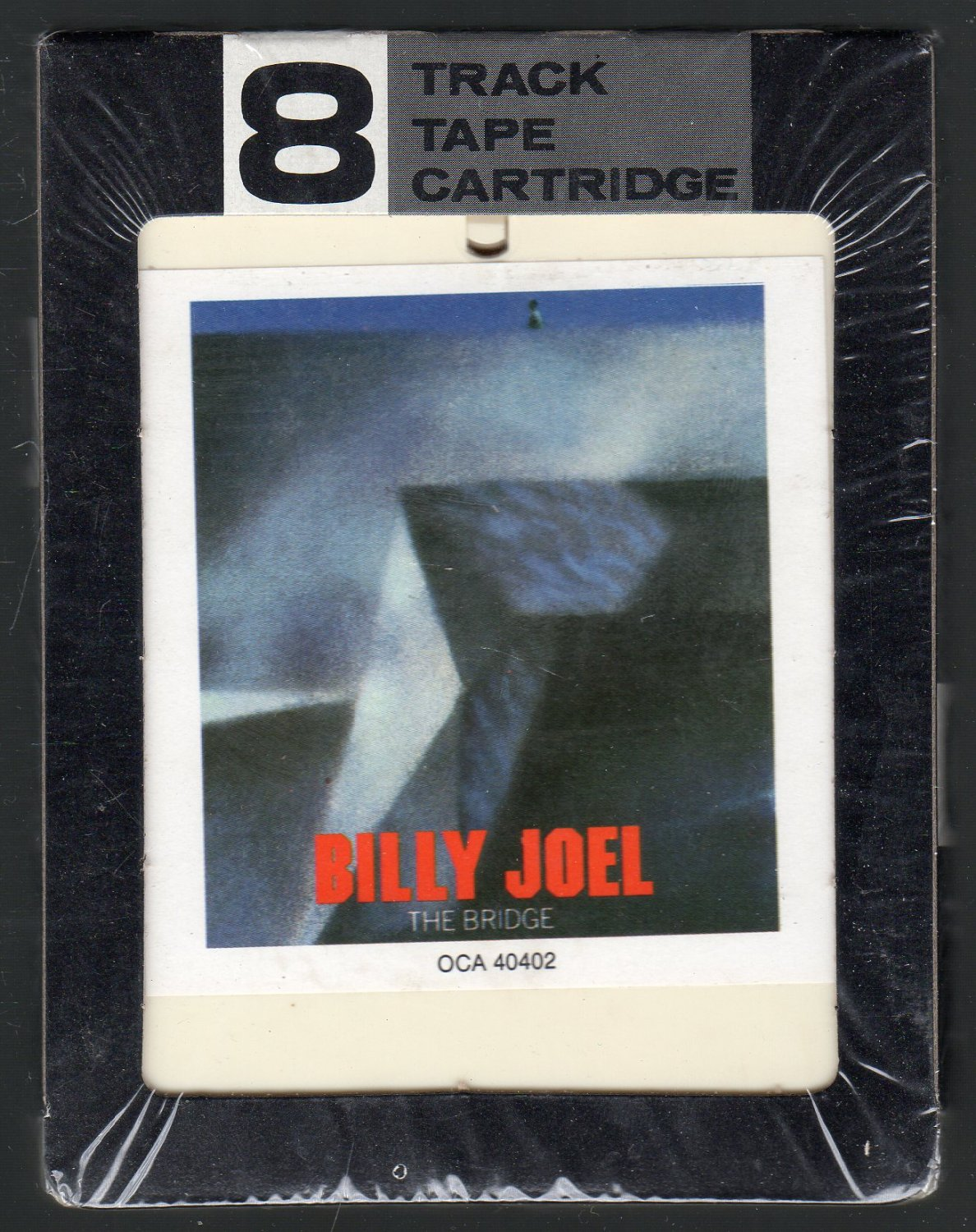 Billy Joel - The Bridge 1986 SOLD Chelsea Sealed 8-track tape