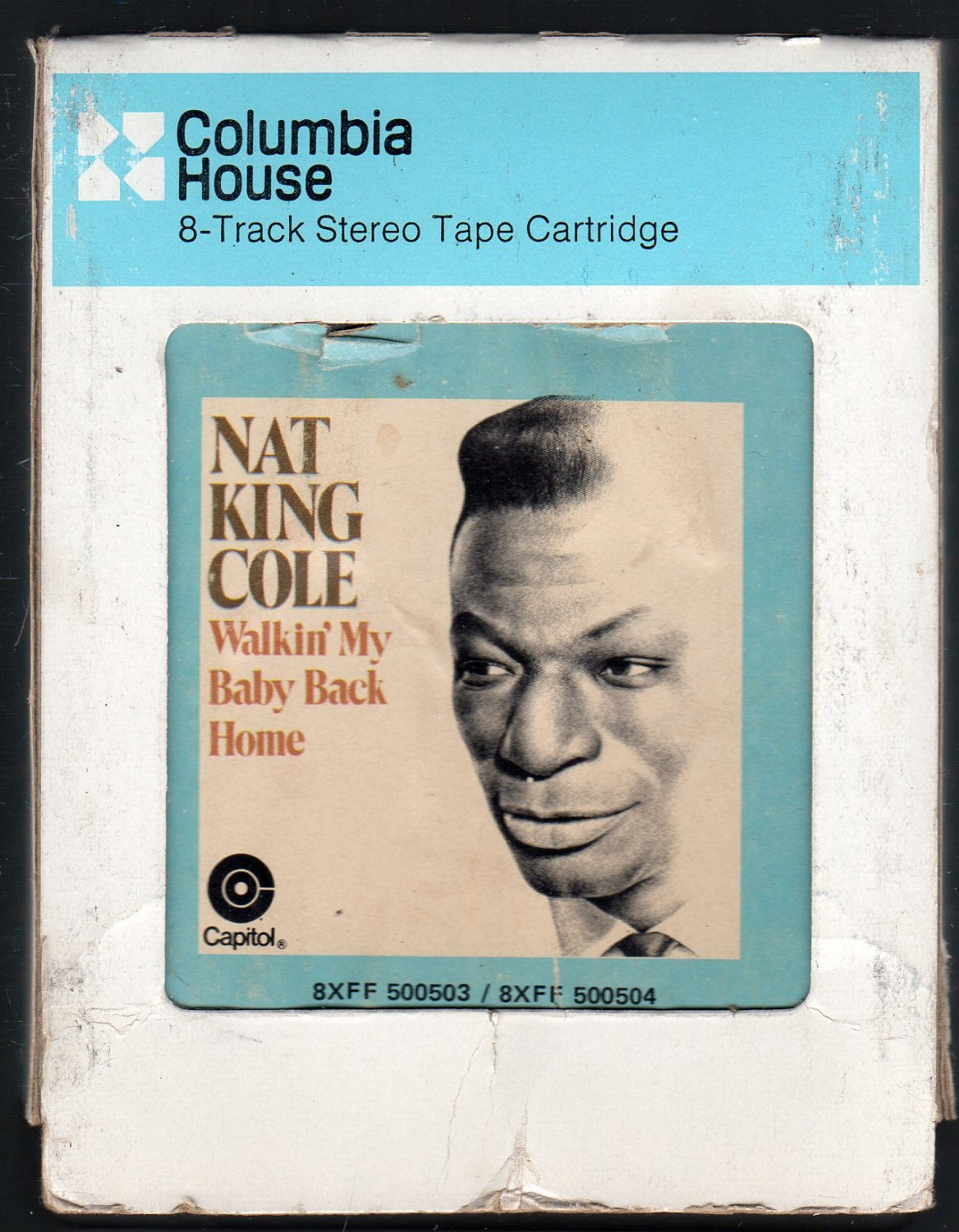 Nat King Cole - Walking My Baby Back Home CRC A52 8-track tape