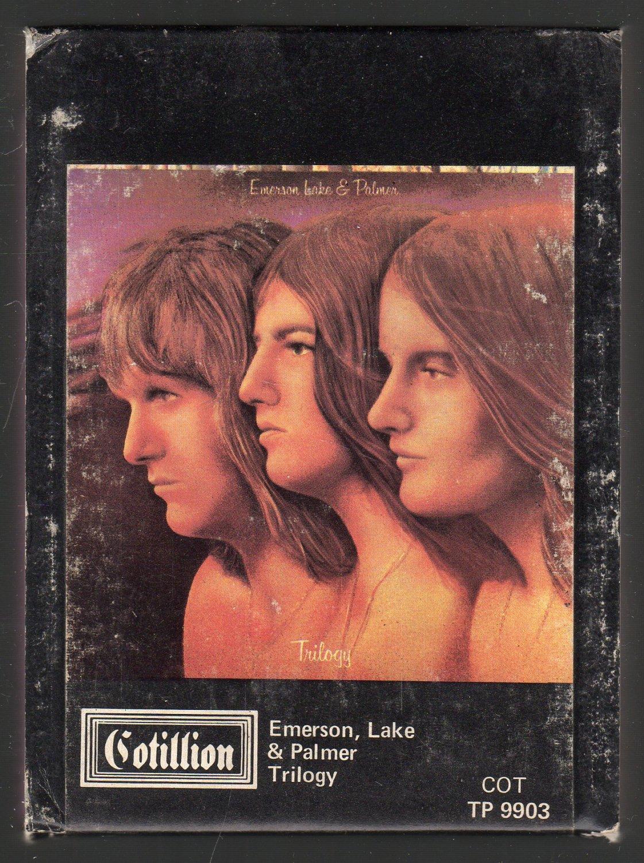 Emerson, Lake & Palmer - Trilogy 1972 ATLANTIC A52 8-track tape