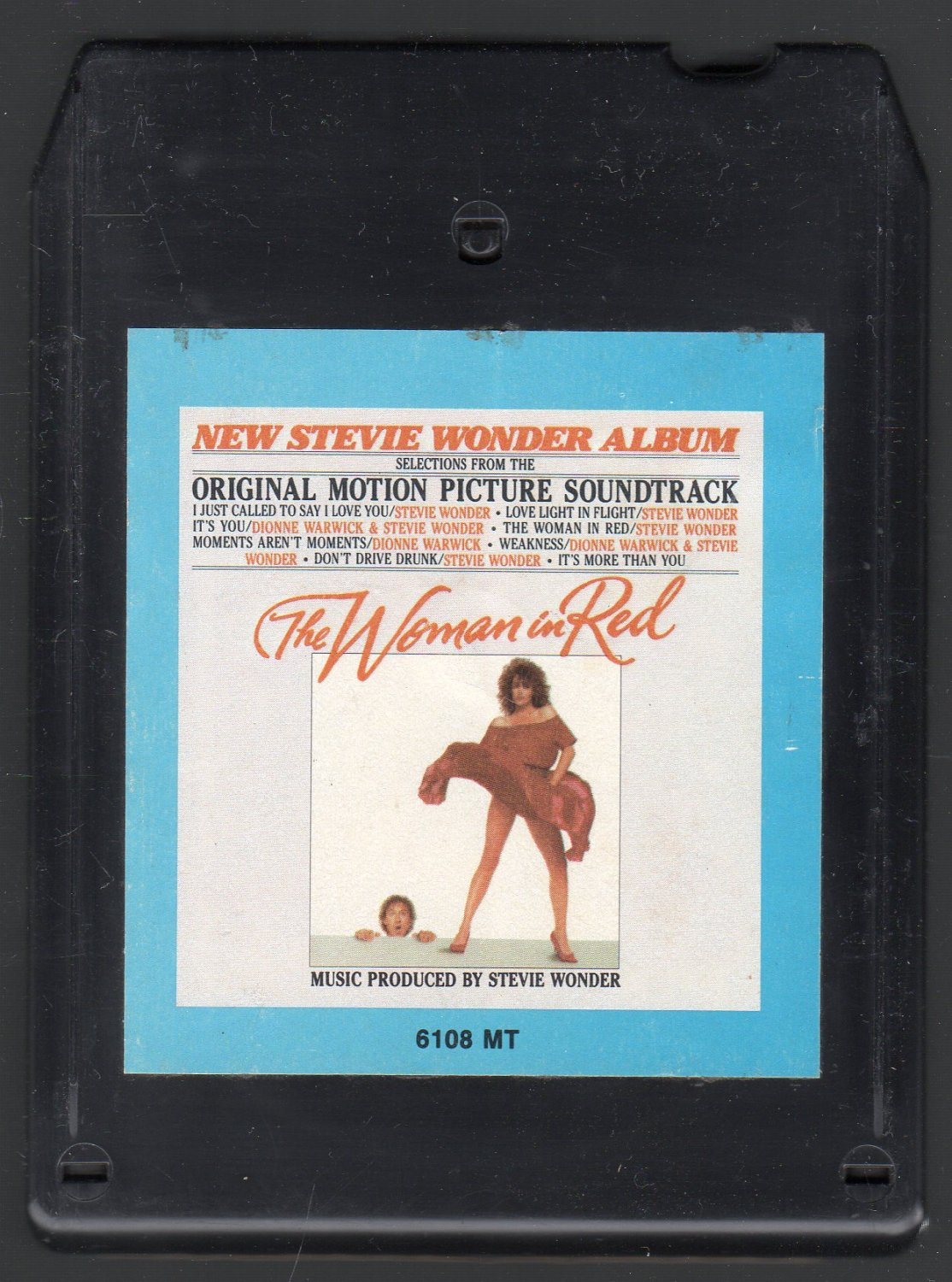 The Woman In Red - Motion Picture Soundtrack 1984 CRC A52 8-track tape