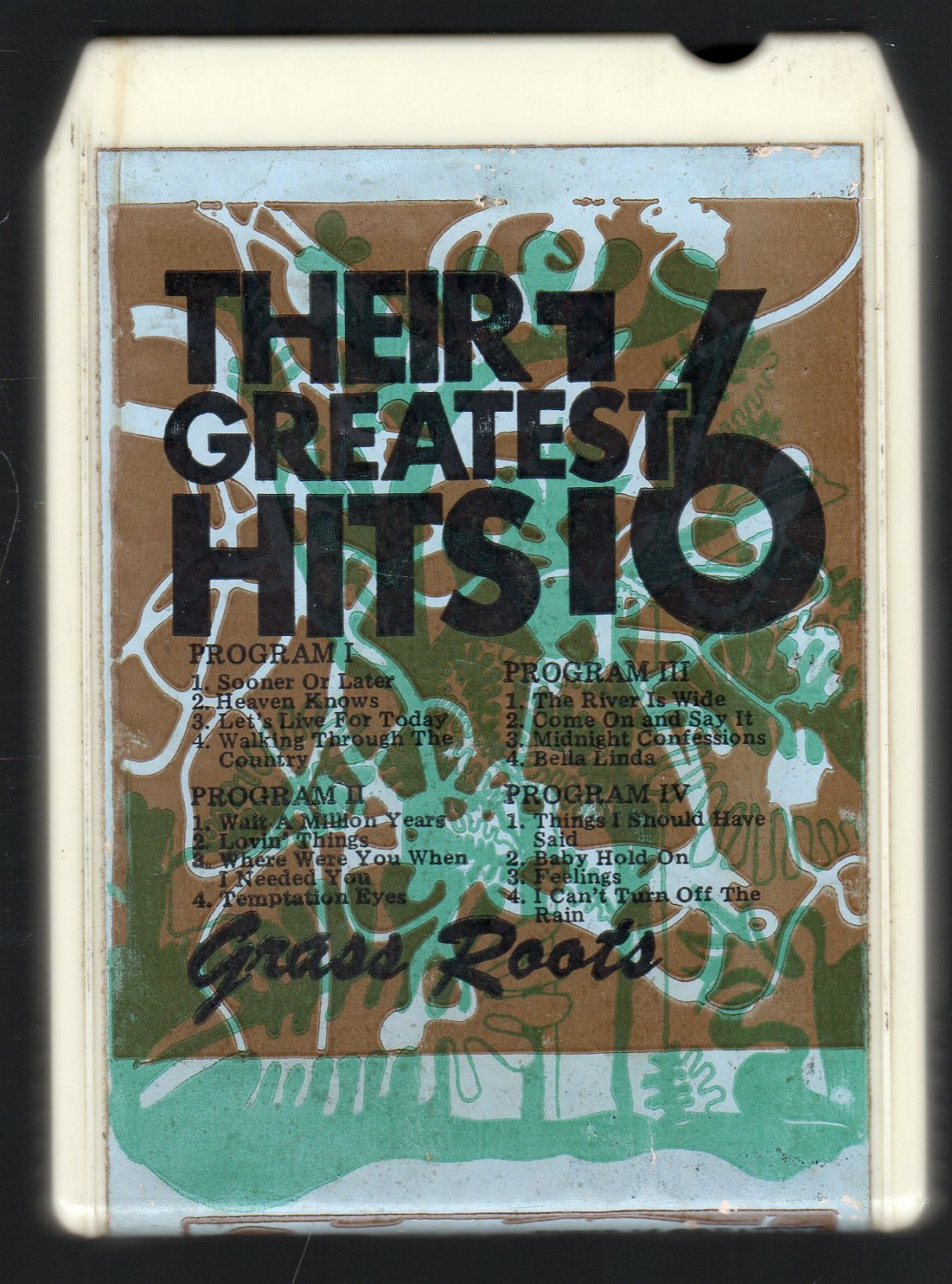 The Grass Roots - Their 16 Greatest Hits ALPINE A52 8-track tape