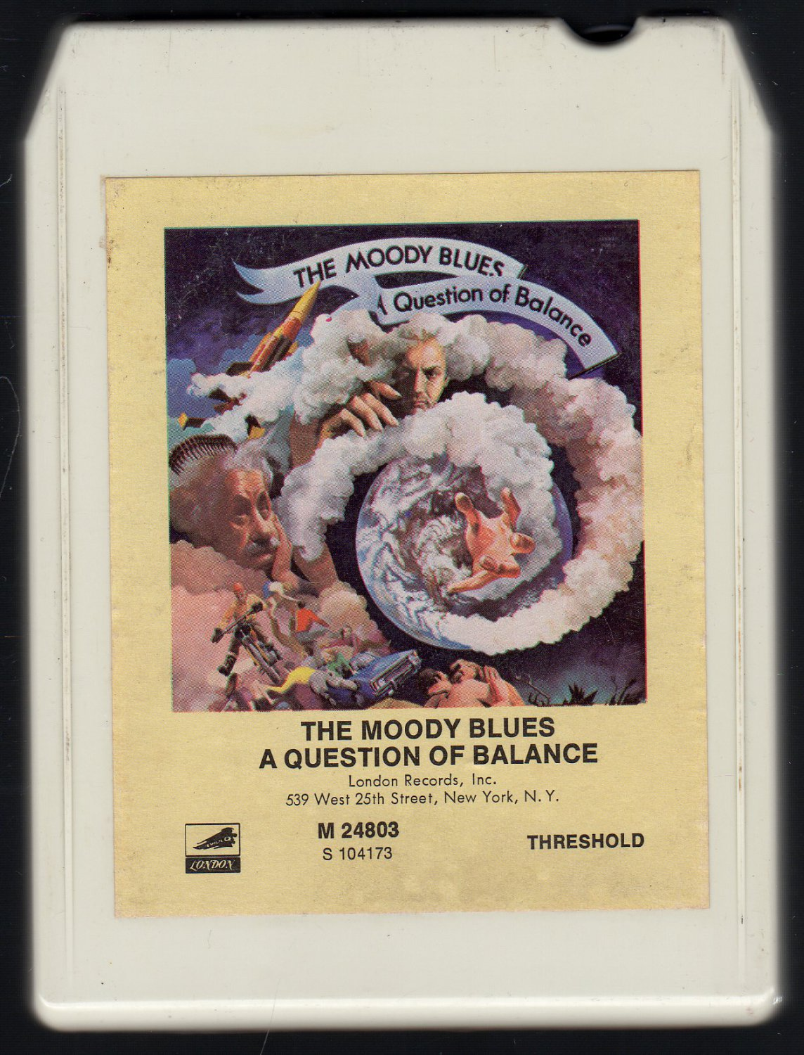 The Moody Blues - A Question Of Balance 8-track tape