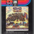 Procol Harum - Procol Harum LIVE 1972 A&M Sealed A52 8-track tape