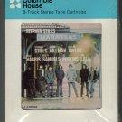 Manassas - Manassas 1972 Debut CRC A52 Atlantic Label Sealed 8-track tape