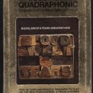 Blood, Sweat & Tears - Greatest Hits Quadraphonic 8-track tape