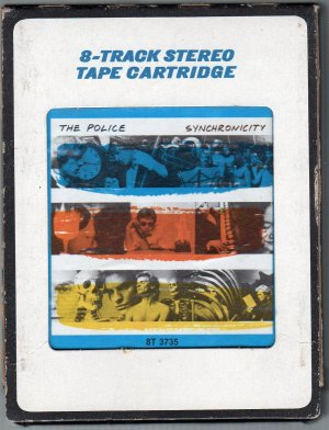 The Police - Synchronocity 1983 CRC SOLD 8-track tape