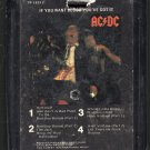 AC/DC - If You Want Blood You've Got It 8-track tape