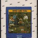 The Who - Who Are You Sealed 8-track tape