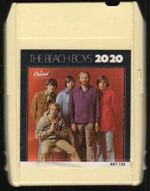 The Beach Boys - 20/20 1969 Capitol 8-track tape