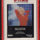 Dolly Parton - Greatest Hits RCA 1983 Sealed 8-track tape