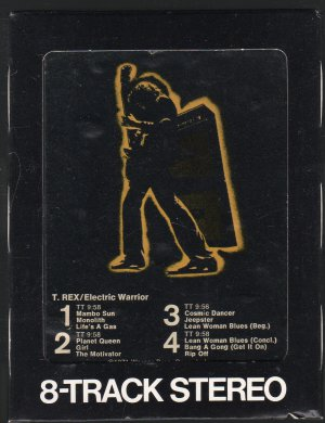 T-Rex - Electric Warrior 8-track tape