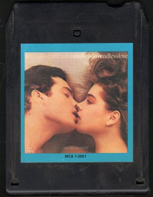 Endless Love - Original Motion Picture Soundtrack 1981 Record Club 8-track tape