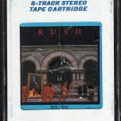 Rush - Moving Pictures 1981 8-track tape