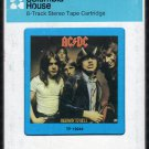 AC/DC - Highway To Hell CRC 8-track tape