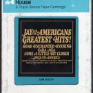 Jay And The Americans - Greatest Hits 1980 CRC 8-track tape