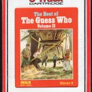 The Guess Who - The Best Of Volume II RCA 8-track tape