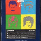 Queen - Hot Space 1982 8-track tape