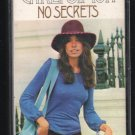 Carly Simon - No Secrets 1972 Epic Cassette Tape