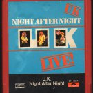 U.K. - Night After Night LIVE 1979 POLYDOR 8-track tape