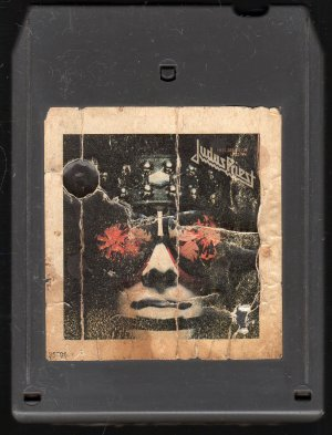 Judas Priest - Killing Machine/Hell Bent For Leather 8-track tape