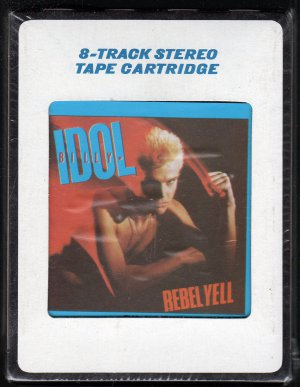 Billy Idol - Rebel Yell 1983 CRC Sealed 8-track tape