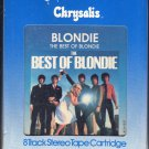 Blondie - The Best Of Blondie 1981 CHRYSALIS 8-track tape