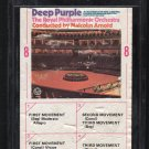 Deep Purple / Royal Philharmonic Orchestra - In Live Concert 1969 Tetragrammaton AMPEX 8-track tape