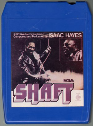 Isaac Hayes - Shaft 1971 STAX 8-track tape