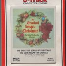 The John McCarthy Chorale - The Greatest Songs Of Christmas RCA Sealed 8-track tape