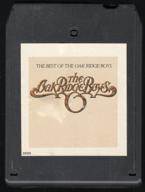 The Oak Ridge Boys - The Best Of The Oak Ridge Boys 8-track tape