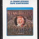 Kenny Rogers - Twenty Greatest Hits 1983 CRC Sealed 8-track tape