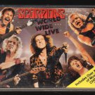Scorpions - World Wide LIVE Chrome Cassette Tape