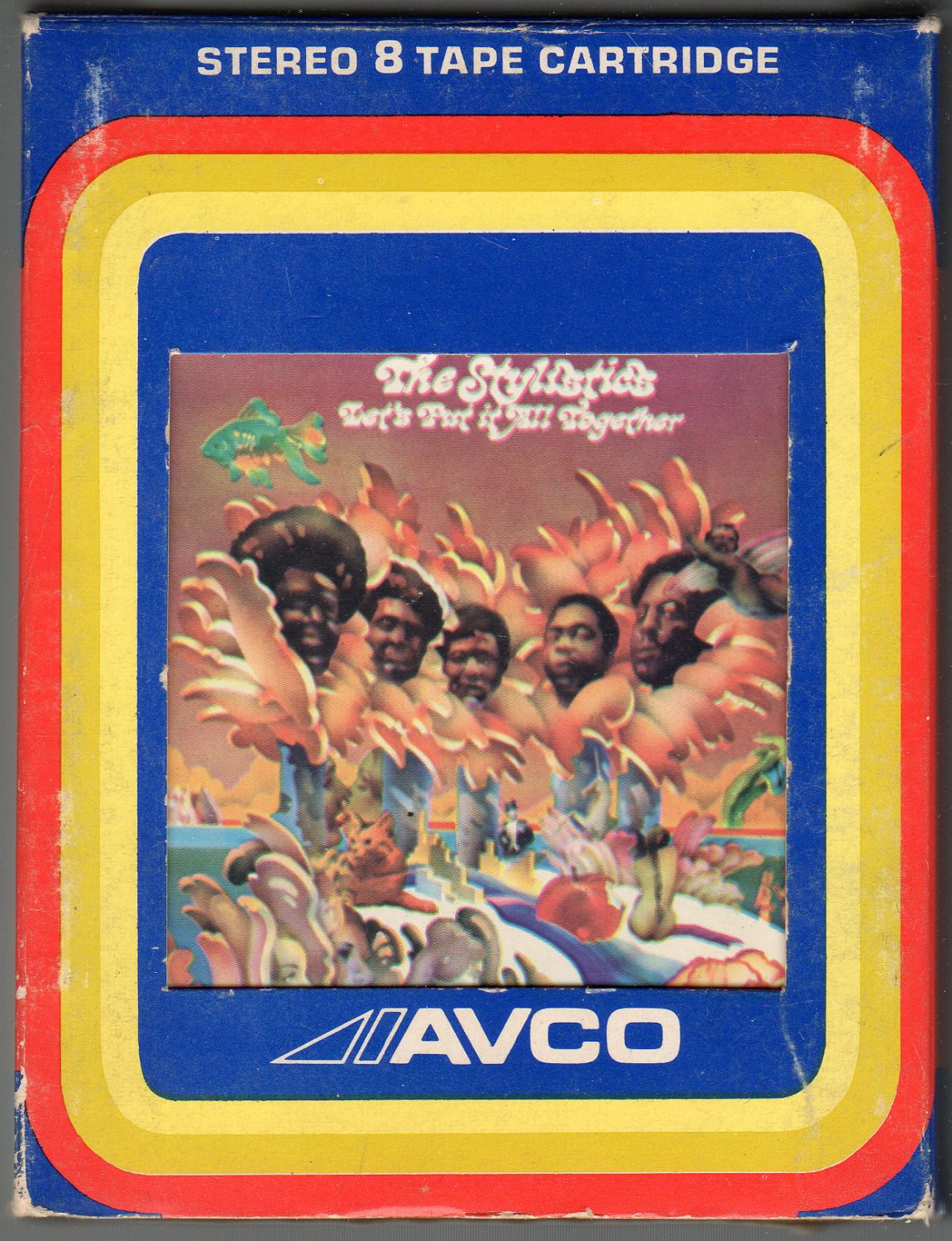 """The Stylistics - """" Let's Put It All Together """" 8-track tape"""